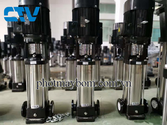Máy bơm trục đứng CNP CDL 8 - 20