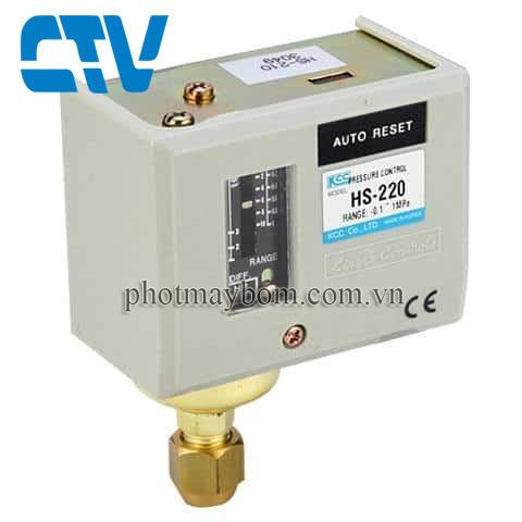 Công tắc áp suất Autosigma HS 220