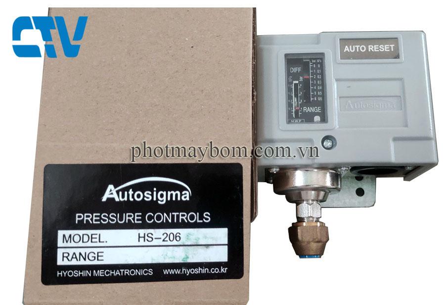 Công tắc áp suất Autosigma HS 206
